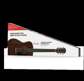 Fender 0970150422 CC-60S Concert Pack V2, All-Mahogany