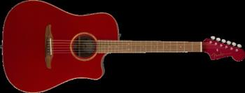 Fender 0970913215 Redondo Classic w/ Bag, Pau Ferro Fingerboard, Hot Rod Red Metallic