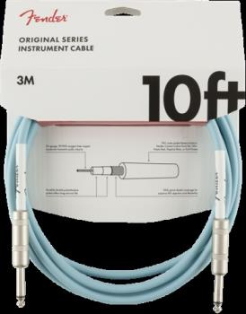 Fender 0990510003 Original Series Instrument Cable, 10', Daphne Blue