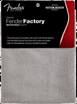 Fender® Factory Microfiber Cloth, Gray