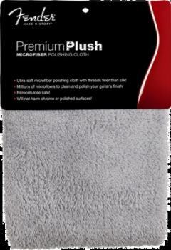 Premium Plush Microfiber Polishing Cloth, Gray