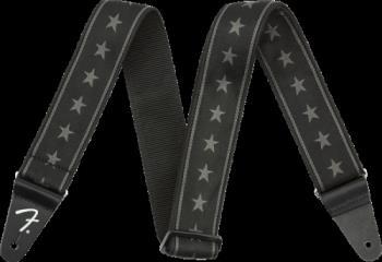 0990615004 Fender Nylon Stars and Stripes Strap, Black/Grey