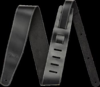 "Fender 0990641006 Broken-In Leather Strap, Black 2.5"""