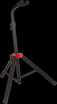 0991803000 Fender Deluxe Hanging Guitar Stand, Black/Red