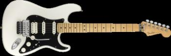 Fender 1149402515 Player Stratocaster with Floyd Rose, Maple Fingerboard, Polar White