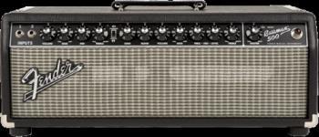 Fender 2249600000 Bassman® 500 Head, 120V, Black/Silver