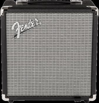 Fender 2370100000 Rumble  15 (V3), 120V, Black/Silver