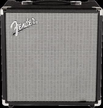 Fender 2370200000 Rumble  25 (V3), 120V, Black/Silver