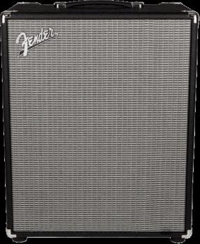 Fender 2370500000 Rumble  200 (V3), 120V, Black/Silver