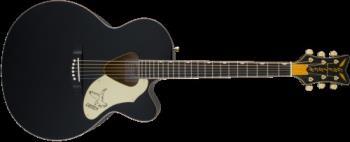 Gretsch G5022CBFE Rancher  Falcon  Jumbo Cutaway Acoustic/Electric, Fishman Pickup System, Black