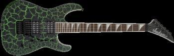 Jackson 2910000529 X Series Soloist  SLX Crackle, Laurel Fingerboard, Green Crackle