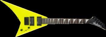 Jackson 2913334504 JS Series RR Minion JS1X, Amaranth Fingerboard, Neon Yellow