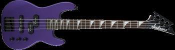 Jackson 2915556552 JS Series Concert Bass  Minion JS1X, Amaranth Fingerboard, Pavo Purple