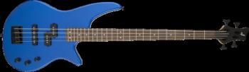 Jackson 2919004527 JS Series Spectra Bass JS2, Laurel Fingerboard, Metallic Blue