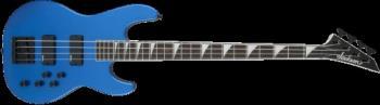 Jackson 2919015554 JS Series Concert  Bass JS3, Rosewood Fingerboard, Metallic Blue