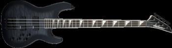 Jackson 2919026585 JS Series Concert  Bass JS3Q, Amaranth Fingerboard, Transparent Black Burst