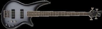 Jackson 2919904521 JS Series Spectra Bass JS3, Laurel Fingerboard, Silverburst