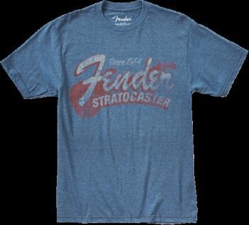 9101290887 Fender® Since 1954 Strat T-Shirt, Blue, XXL