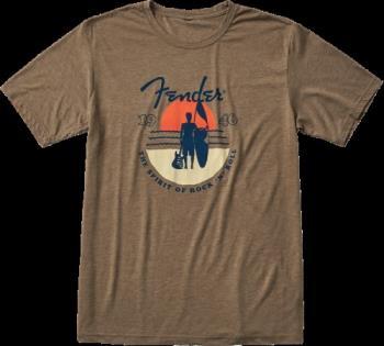9123013082 Fender Sunset Spirit T-Shirt, Olive, M