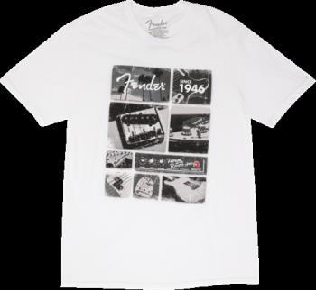 9125001306 Fender® Vintage Parts T-Shirt, White, S