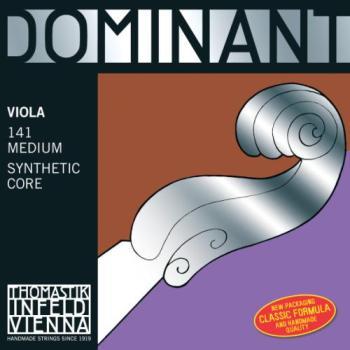 "DOMINANT DOM13815.5 Viola G String 15.5""-16"" - Silver Wound"
