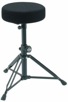 K&M Drummer's Throne (Black Fabric)