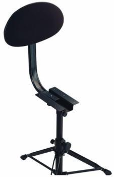 K&M Backrest -Black Fabric