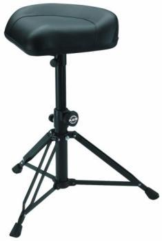 "K&M Drummer's Throne, """"NICK"""" (Black Leather)"""