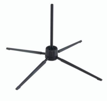 K+M 15262 FLUTE / PICCOLO STAND - BLACK