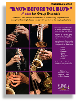 CD KNOW BEFORE YOU BLOW Modes for TENOR SAX