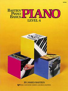 Bastien Piano Basics Piano Level 4