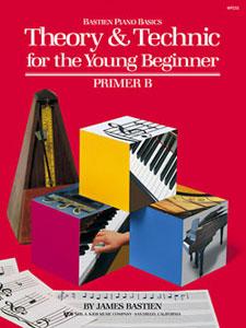 Bastien Piano Basics Theory & Technic Primer B Thry/Tech