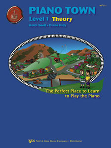 Piano Town Theory Book Level 1