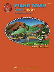 Piano Town Theory Book Level 4