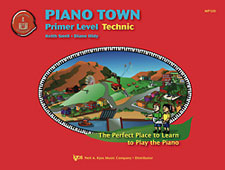 Piano Town Technic Book Primer Level
