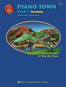 Piano Town Technic Book Level 1
