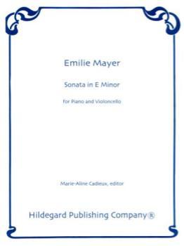 Mayer - Sonata in E minor for Piano and Violoncello