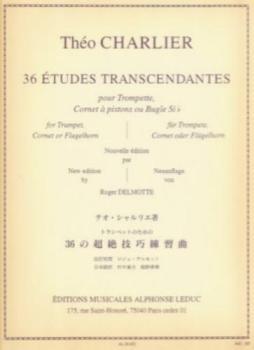 36 Etudes Transcendantes Trumpet