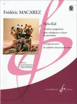 Xylo-Kid 12 progressive pieces for xylophone and percussion clavier