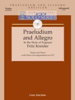 CD Solo Series - Praeludium and Allegro