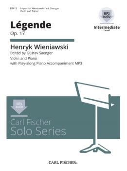 CD Solo Series - Wieniawski - Legende, Op 17