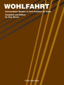 Wohlfahrt - Intermediate Studies in First Postion for Viola