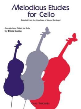 Bordogni - Melodious Etudes for Cello