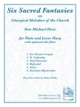 Six Sacred Fantasies [flute and lever harp] Dicie FLUTE/HARP