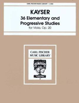 36 Elementary & Progressive Studies Op20