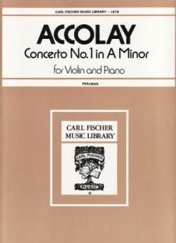 Accolay - Concerto No. 1 In A Minor