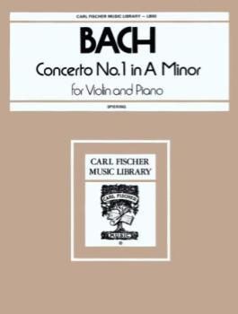Bach - Concerto No. 1 In A Minor for Violin and Piano