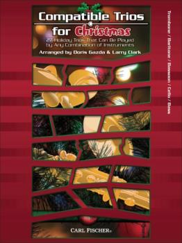 Carl Fischer Various Gazda / Clark  Compatible Trios for Christmas - Bass Clef