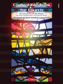 Carl Fischer  Gazda / Clark  Compatible Trios for Church - Violin