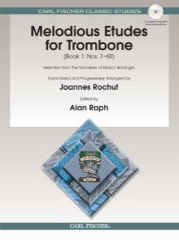 Melodious Etudes for Trombone, Book 1 (with CD)